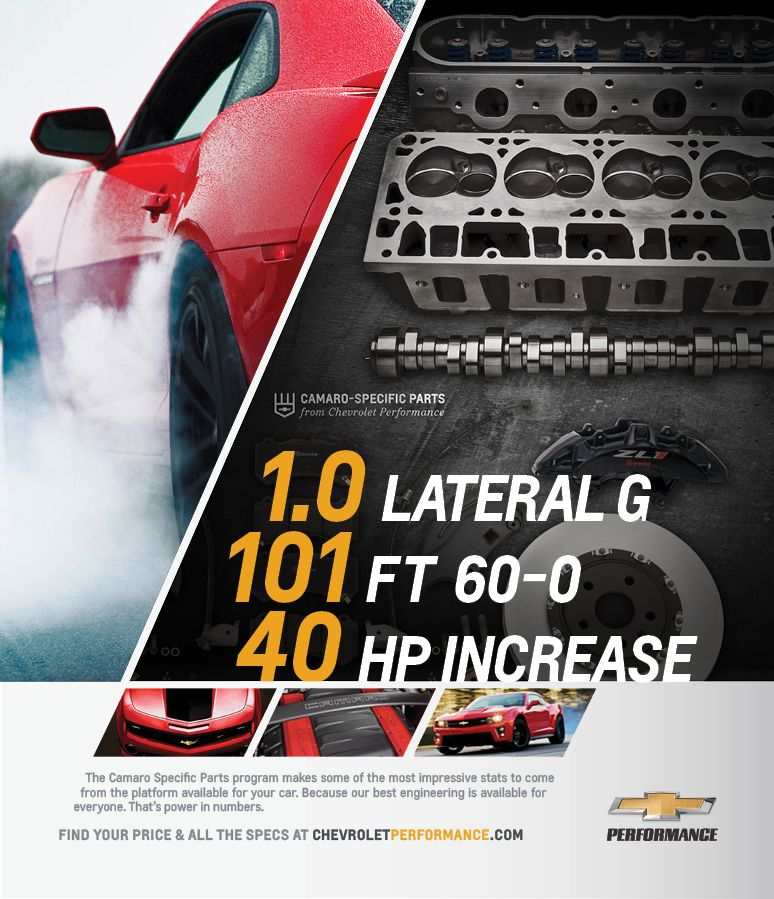 Chevrolet Performance Jeff Wolfe Art Direction Design Chevrolet Performance Performance Parts