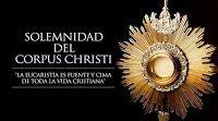 Profecías y  sus Profetas: Domingo 7 de Junio de 2015: Corpus Christi