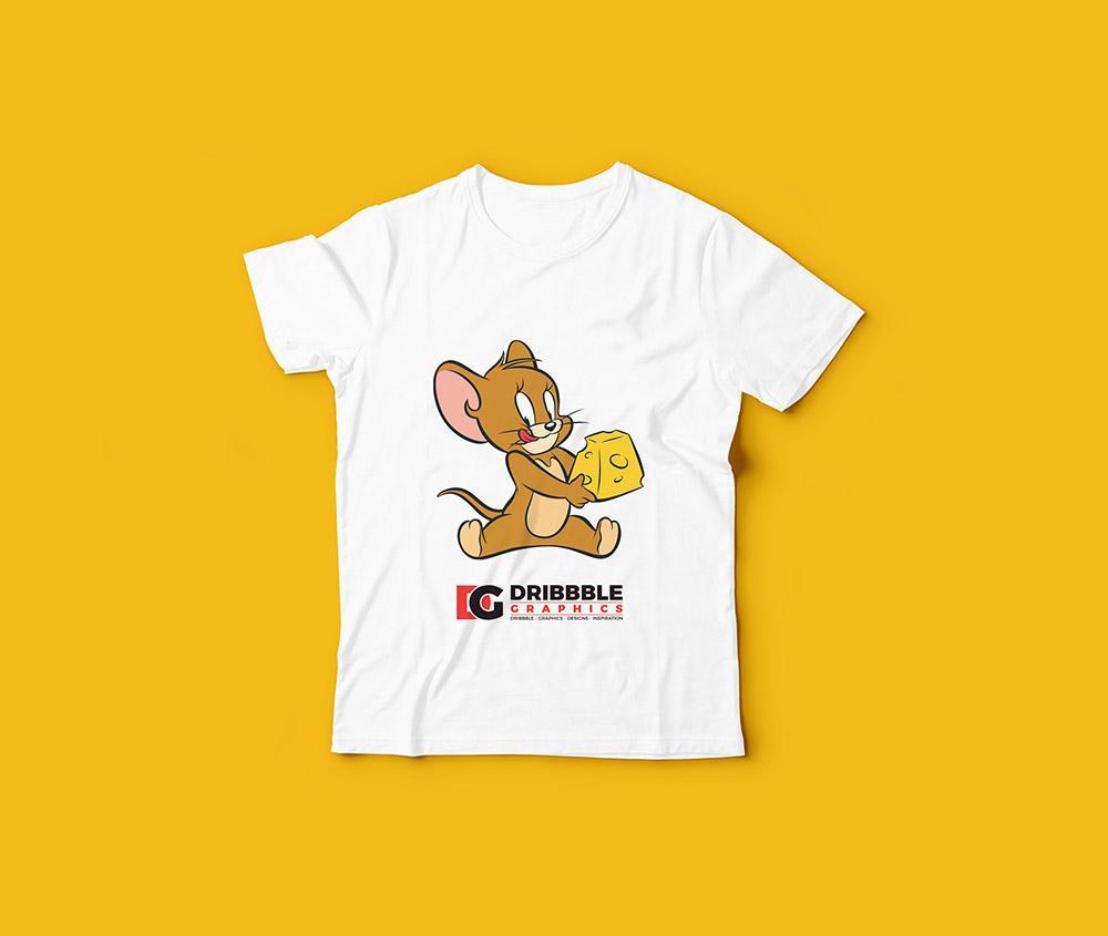 Download Free Kids T Shirt Mockup Mockuptree Kaos Baju Anak Mockup