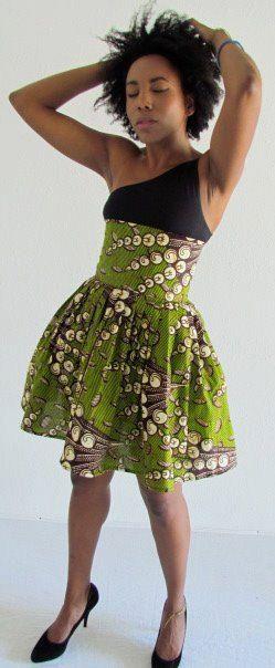 African Print Skirt. #Africanfashion #AfricanWeddings #Africanprints #Ethnicprints #Africanwomen #africanTradition #AfricanArt #AfricanStyle #Kitenge #AfricanBeads #Gele #Kente #Ankara #Nigerianfashion #Ghanaianfashion #Kenyanfashion #Burundifashion #senegalesefashion #Swahilifashion ~DK