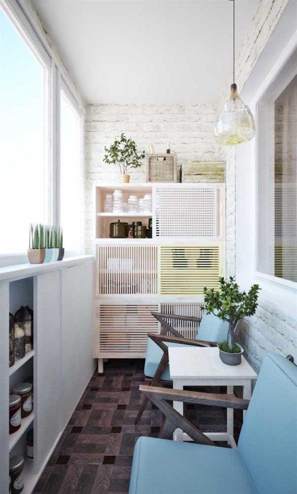 How to Decorate Long Narrow Balconies? - Unique Balcony & Garden Decoration and Easy DIY Ideas #narrowbalcony
