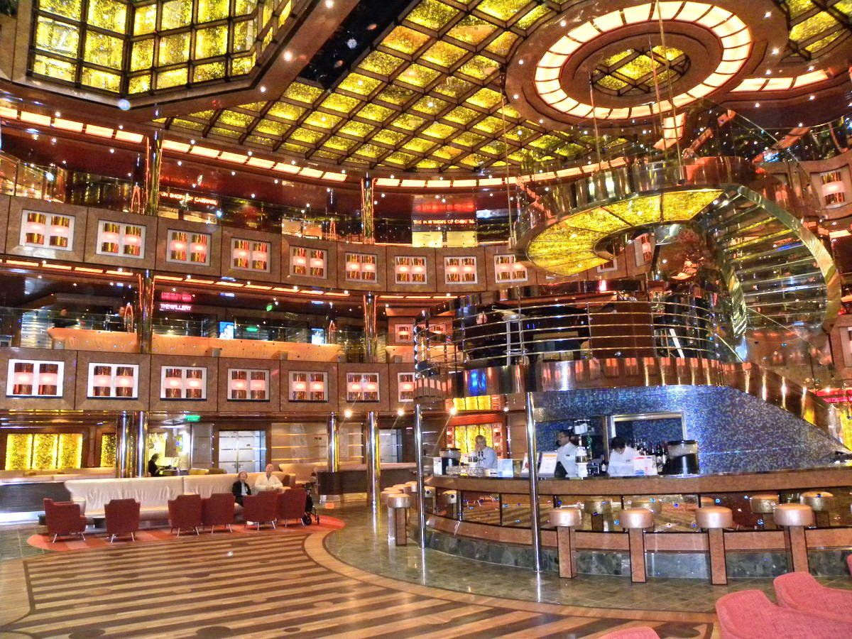 Can it get an sweeter than this? The Atrium Carnival Dream ...