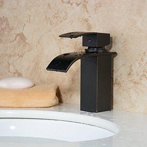 Hiendure®In ottone cascata bagno del dispersore del bacino Rubinetti (nero) Hiendure http://www.amazon.it/dp/B018VLV7GA/ref=cm_sw_r_pi_dp_eCdcxb0MS5WHX