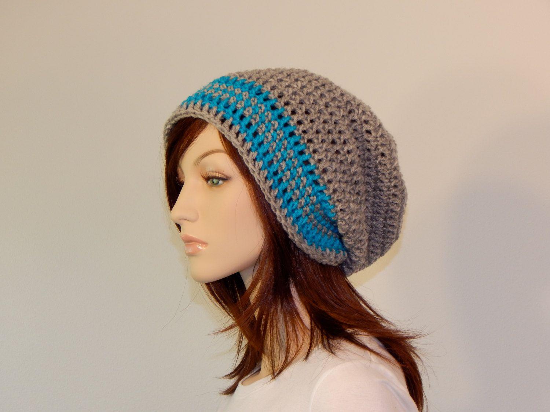Crochet PATTERN PDF The Harmony Slouch Beanie Winter Slouchy Hat ...