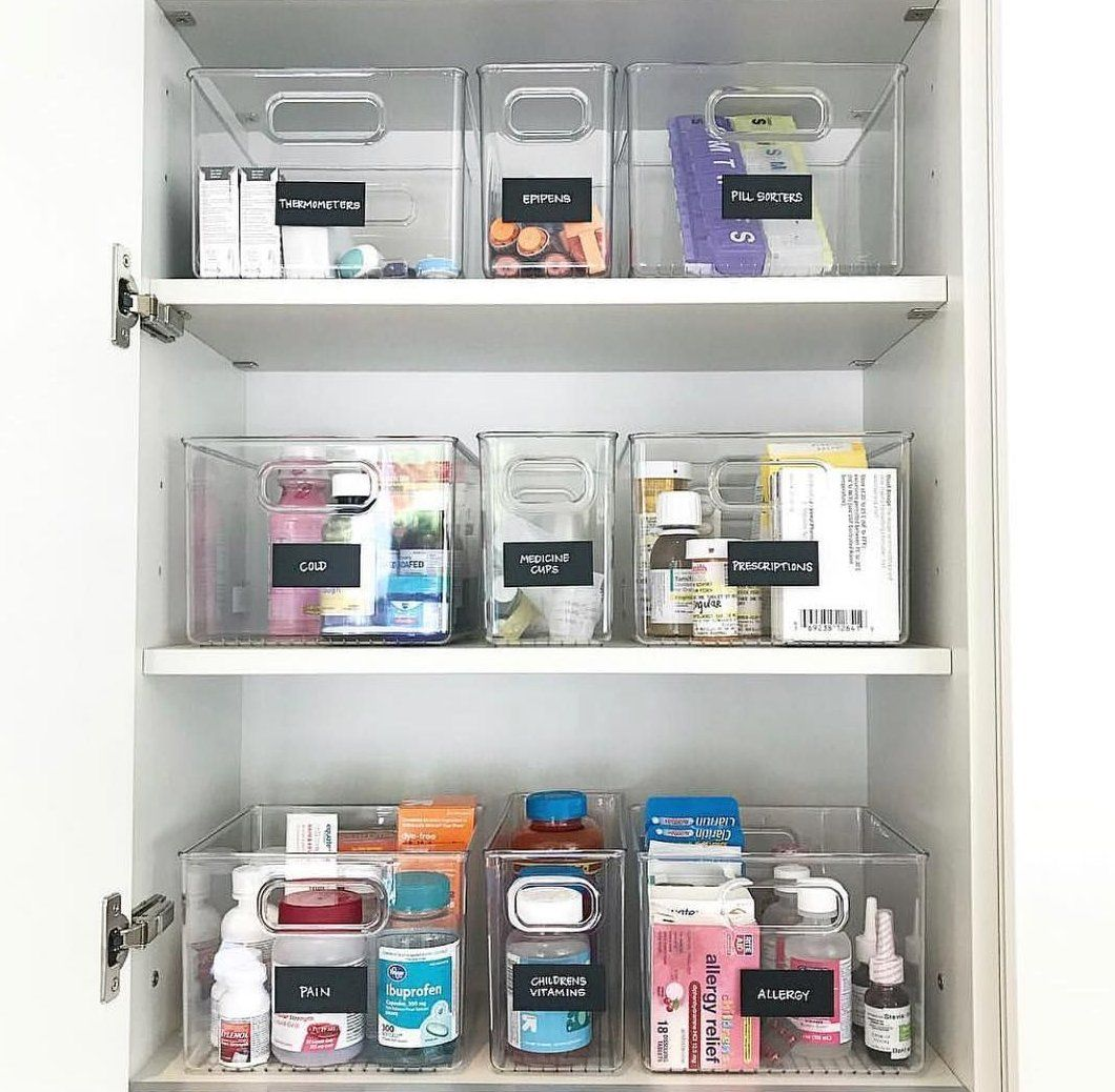 Whether You Live Alone Or Have A Family These Medicine Cabinet Organization Tips Will Help You Organize Your B Banyo Duzenleme Banyo Dolabi Gardirop Duzenleme [ jpg ]