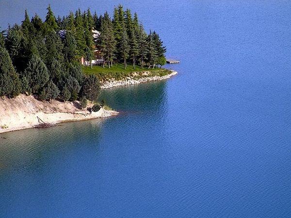 Latian lake near Tehran