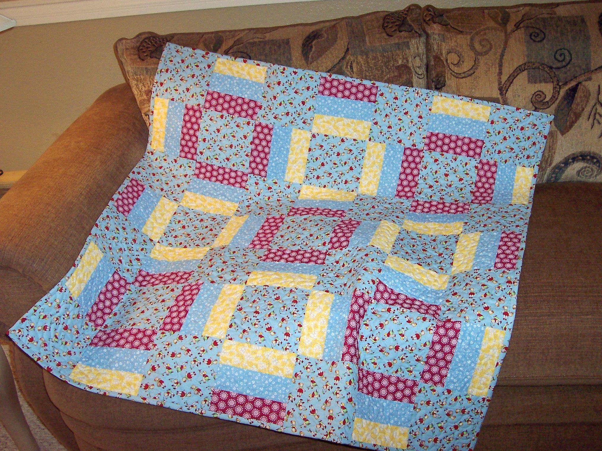 warm wishes quilt pattern mccalls | Thread: Warm wishes baby quilt...