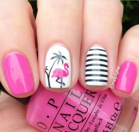 Disegni per lucidare unghie per lestate Unghie Rosa Estate 682732d9e82f