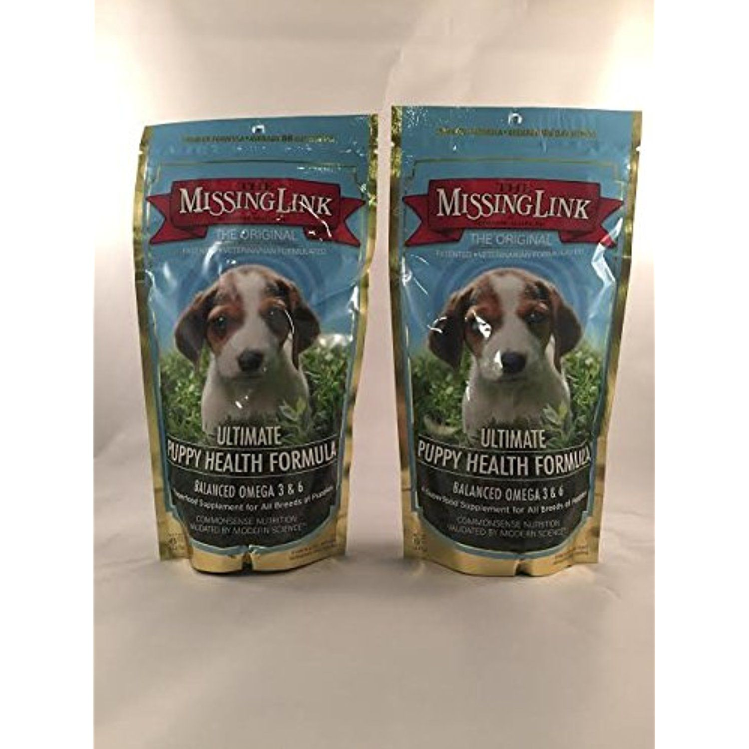 2 Pack Missing Link 8 Ounce Puppy Health Formula Puppy Food