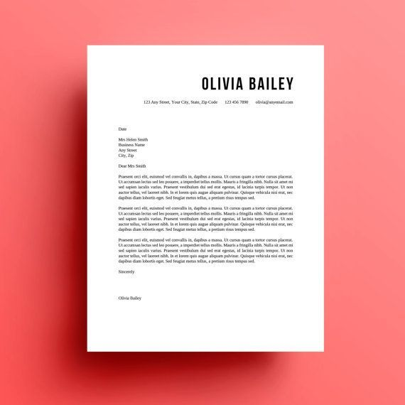 Pin by Katherine Pasichnyuk on free_mockups Pinterest - design cover letter