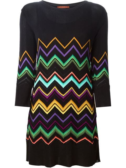 d45857dbb54 Shop Missoni zig zag crochet knit dress in Mayurka from the world s best  independent boutiques at farfetch.com. Over 1000 designers from 300  boutiques in ...