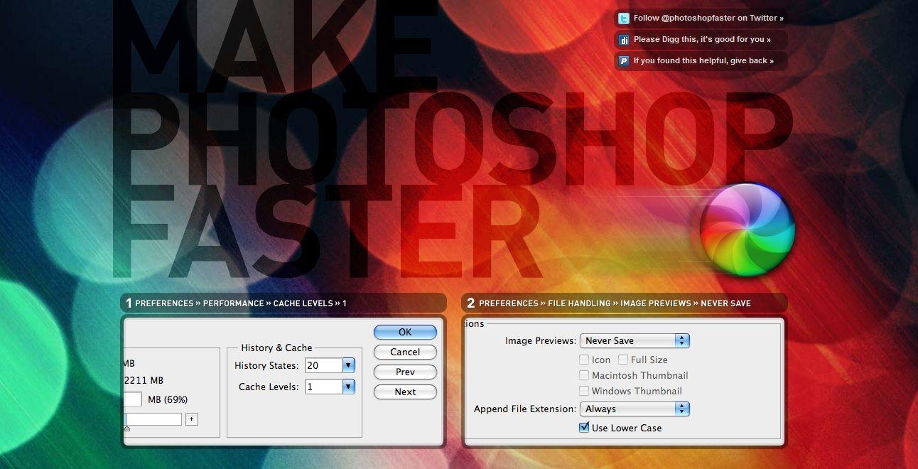 Make Photoshop Faster #WebDesign #Colorful | Web Design Inspiration ...