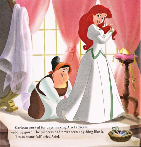 Walt Disney Book Images - The Little Mermaid: Ariel's ...