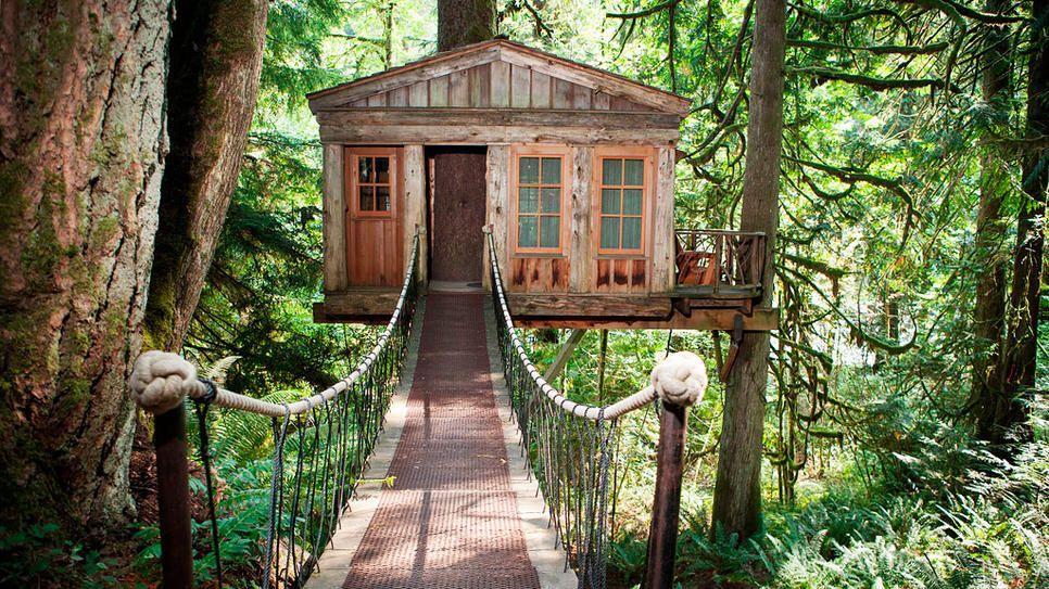 Superior Treehouse Fall City Wa Part - 9: TreeHouse Point In Fall City, Washington