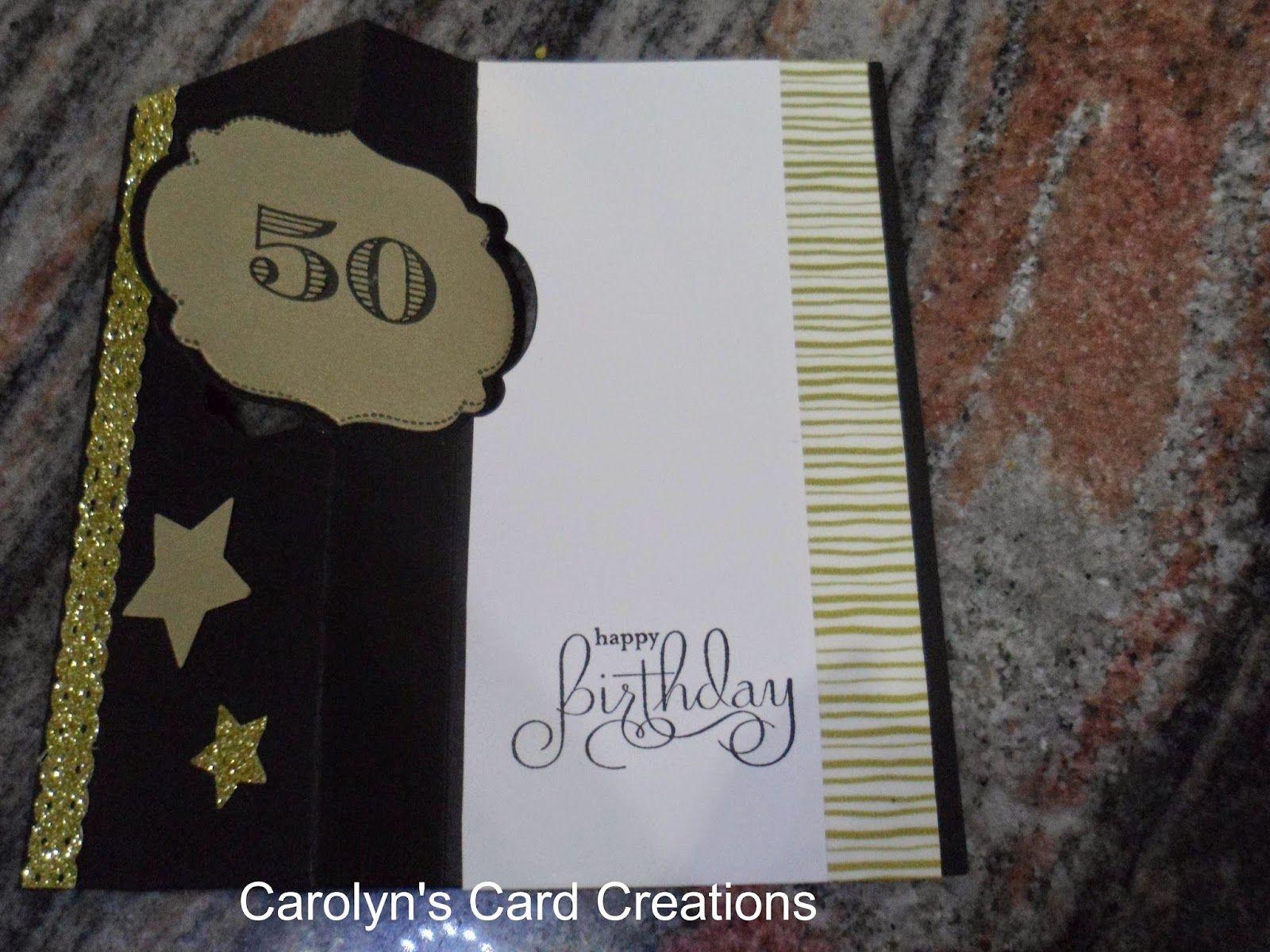 Carolynus card creations happy th birthday flip side of label