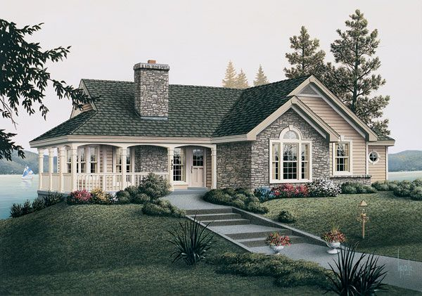 images of new country house plans English Country Cottage House