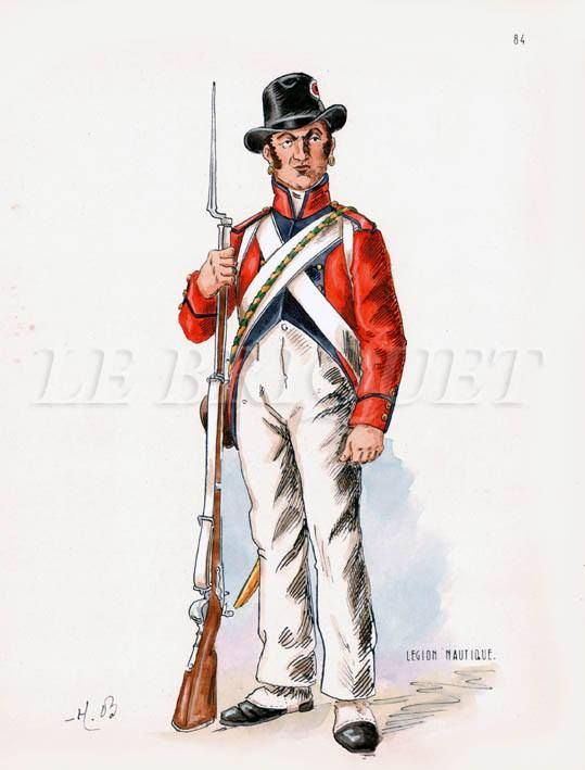 Fuciliere della legione nautica inglese in Egitto
