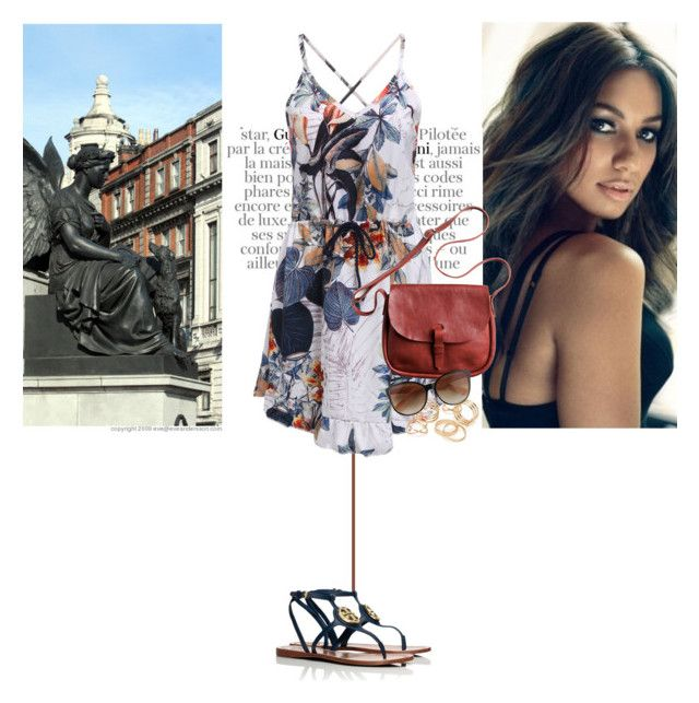 """Never wonder where I am"" by ninotchka-nb ❤ liked on Polyvore featuring Gucci, Toast, JFR and Tory Burch"