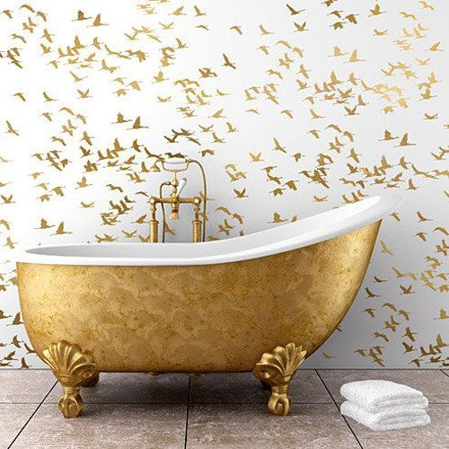 Photo of Flock Of Cranes Wall Stencil – LARGE WALL STENCIL – Bird Wall Stencil – Easy to Use Wall Stencil for a Quick Room Update – Stencil for Walls