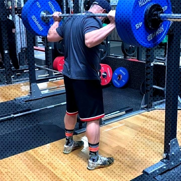 Just some light squat action. 3...