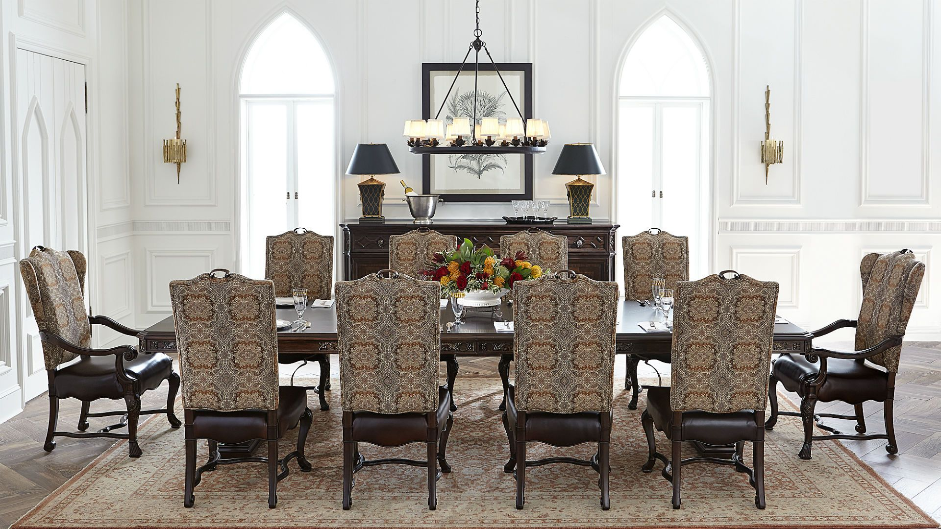 Casa D'onore  Dining Room  Stanley Furniture  Casa D'onore Best Stanley Dining Room Set Design Decoration