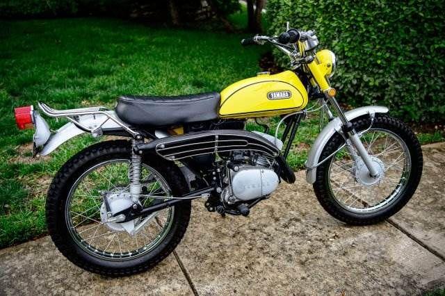 1970 Yamaha Enduro 125cc