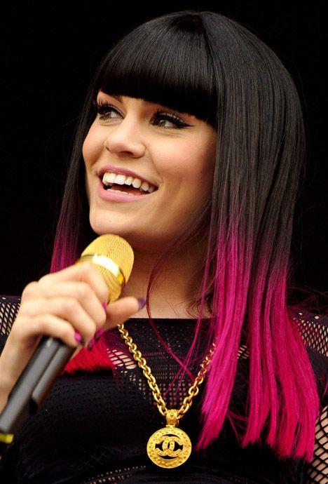 Jessie J Pink Dip Dye Hair Dip Dye Hair Hair Styles Hair Dye Colors