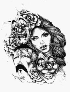 draw drawing pretty chicana swag style gang girl thug | Draw ...