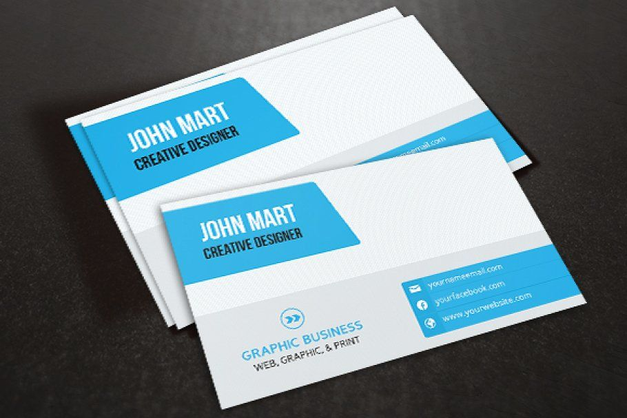Creative Business Card V 07 Business Cards Creative Business Card Template Business Cards