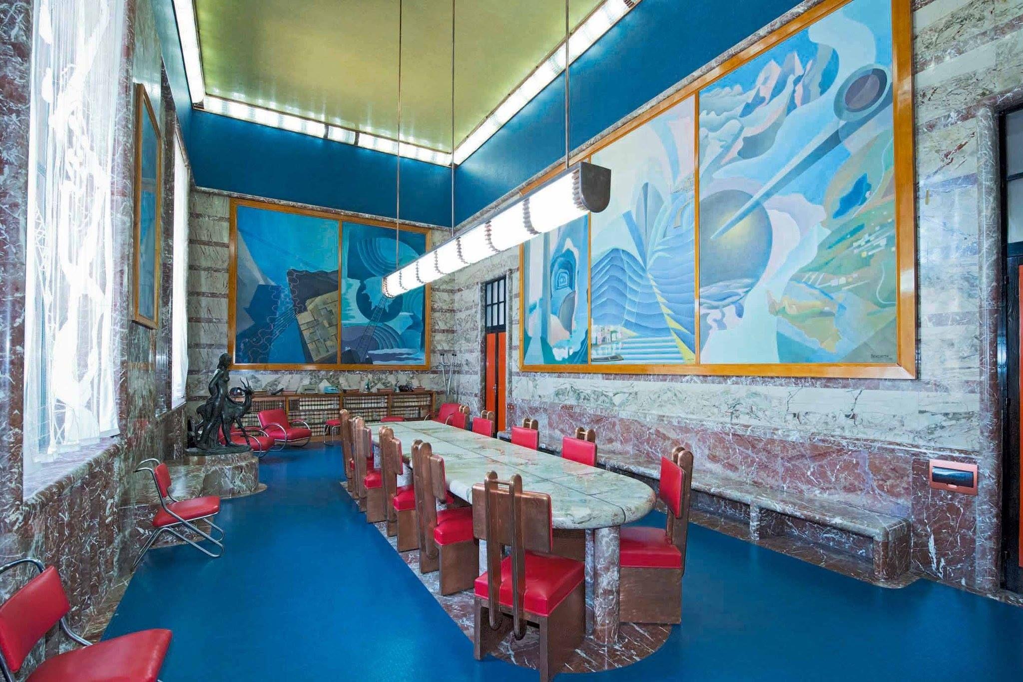 Murals By The Italian Futurist Benedetta Cappa