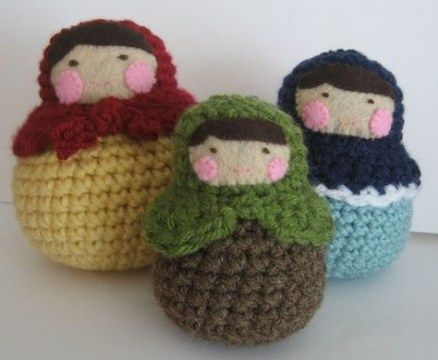 Crochet doll russian sweets 27 super ideas #crochet #doll ...