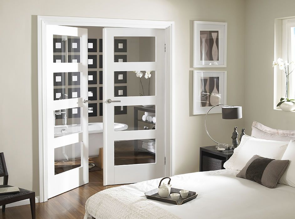 White Shaker 5 Panel Interior Door Glass Google Search For The