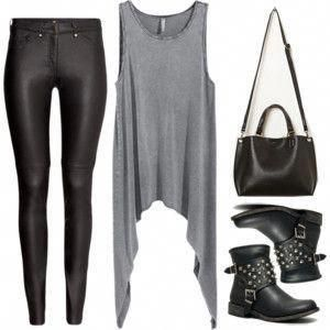 Edgy Hanna Marin inspired minimal style outfit #edgywomensfashion #WomensFashionMinimalist