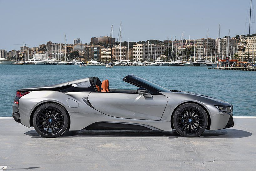 Sun Sea And A Soft Top Designboom Tests The Bmw I8 Roadster In