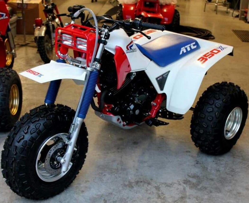 1986 Honda Atc 350x Honda Bikes Dirtbikes New Honda