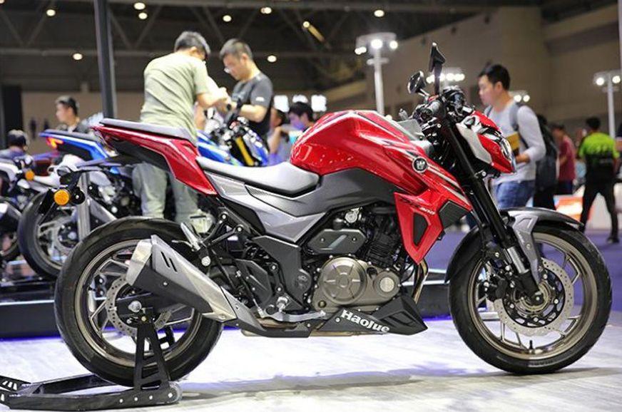 Trending Houje Dr300 Suzuki Gsx S300 Unveiled In China Suzuki