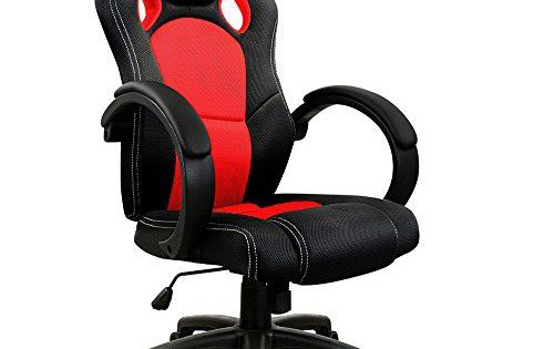 fauteuil siege baquet rouge