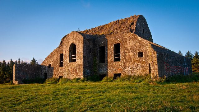 Standing just outside of Dublin, high in the mountains, built on an ancient cairn, and far enough away from the city that nighttime activities weren't going to raise any unwanted questions, is Montpelier Hill.
