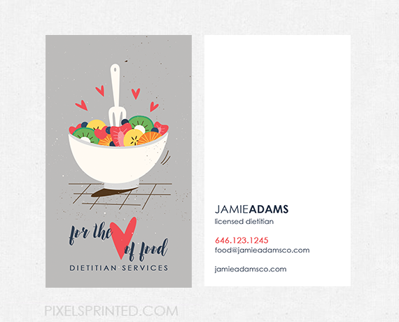 Nutritionist business cards personal chef business cards healthy nutritionist business cards personal chef business cards healthy chef business colourmoves