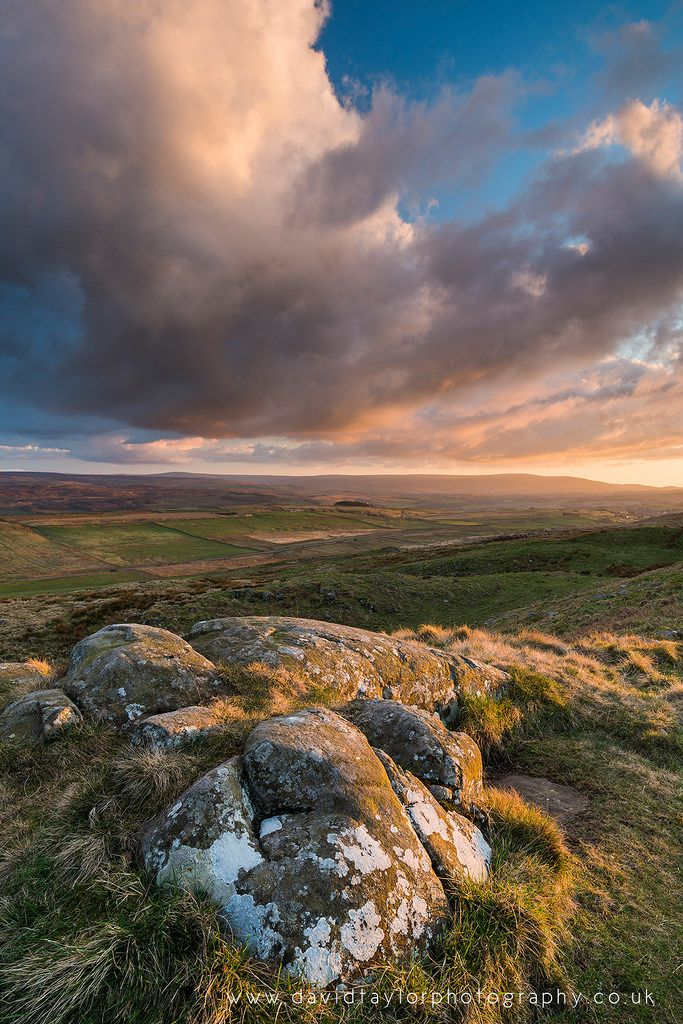 dtaylorphotography posted a photo:  The summit of Winshield Crag at sunset in the Northumberland National Park.  www.davidtaylorphotography.co.uk