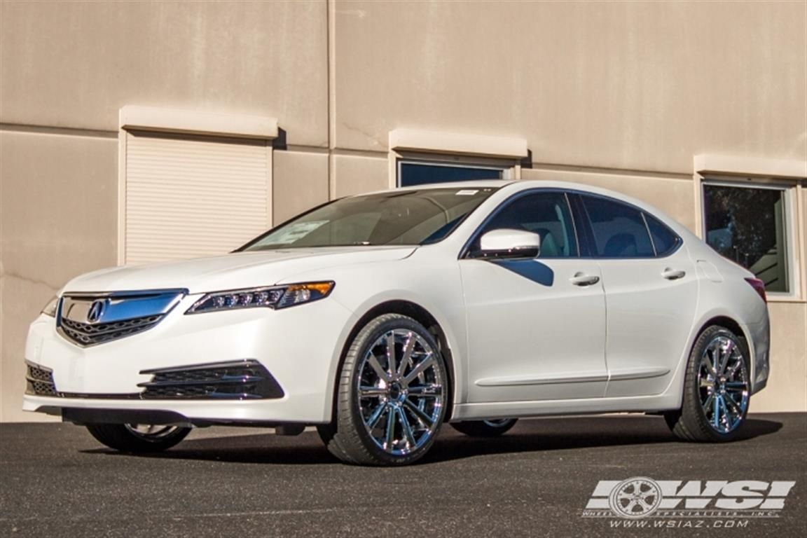 2016 acura tlx with 20 gianelle santoneo by wheel specialists inc in tempe