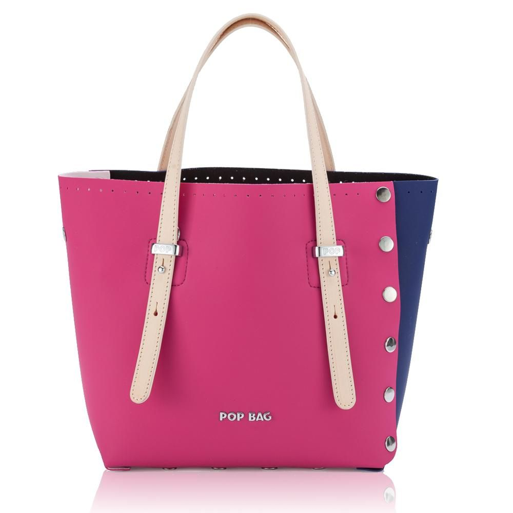 Shopping Pop Bag By J&C POPG 02 Blu Fuxia   Shopping, Scarpe
