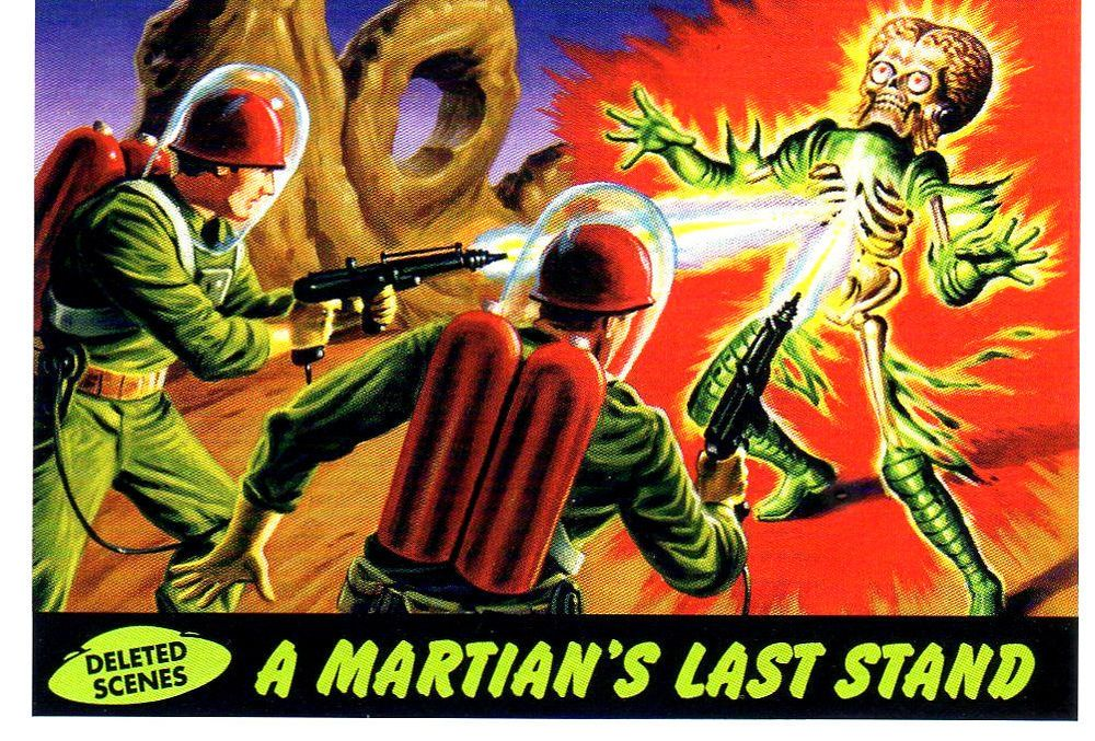 2012 topps mars attacks heritage deleted scenes card 10