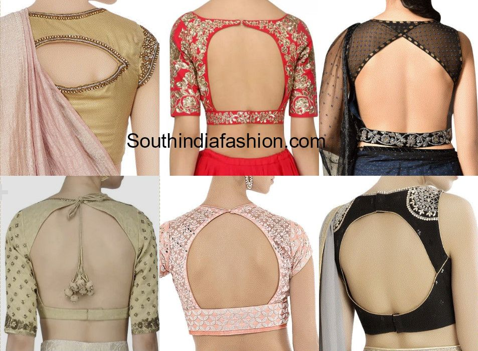 Pin On Saree Blouse Designs