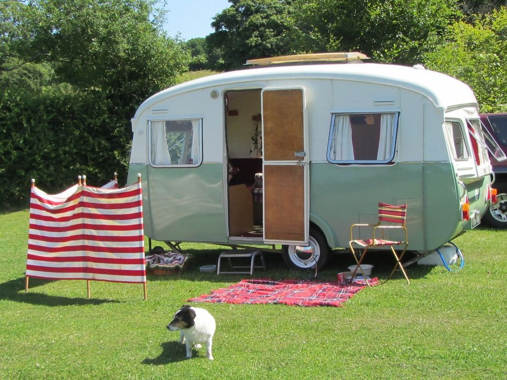 Cheltenham Sable Vintage Retro Caravan Renovated Retro