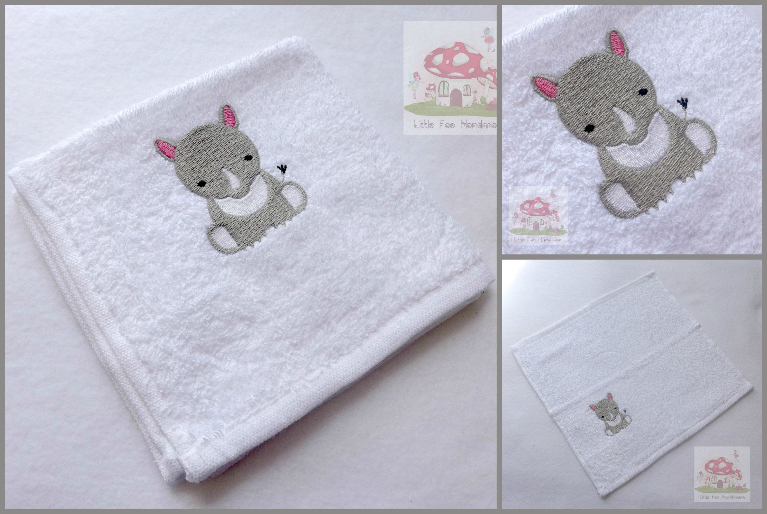 We have added to our embroidered baby flannel range we now have a