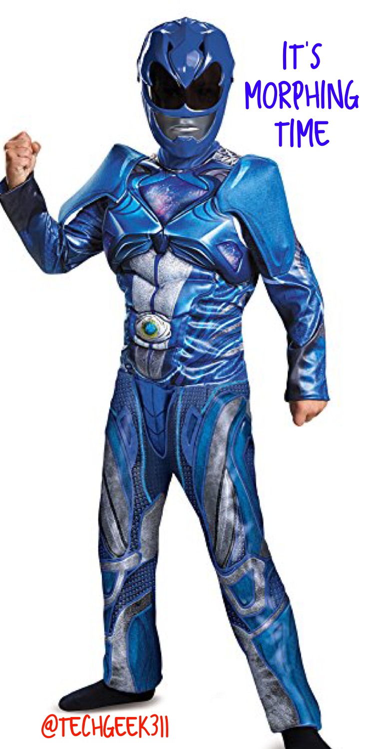 Become a Power Ranger and live out your morphing dreams
