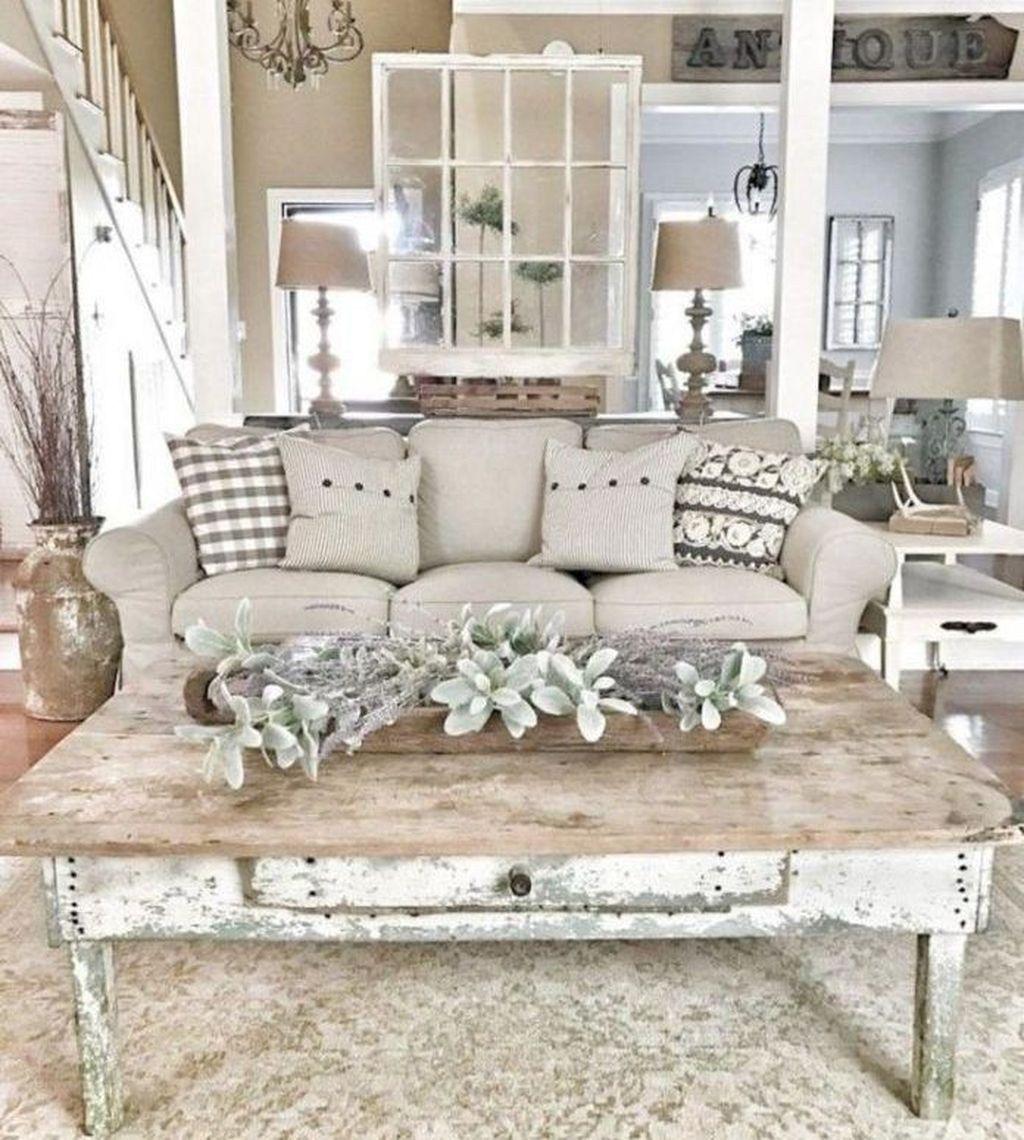 Best Farmhouse Living Room Makeover Decor Ideas 19  Appartement