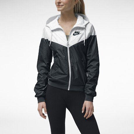 Nike Black White windbreaker   Jackets