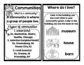 Part of MY Community {A Social Studies Decodable Book